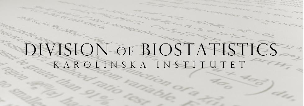 Unit of Biostatistics - Karolinska Institutet